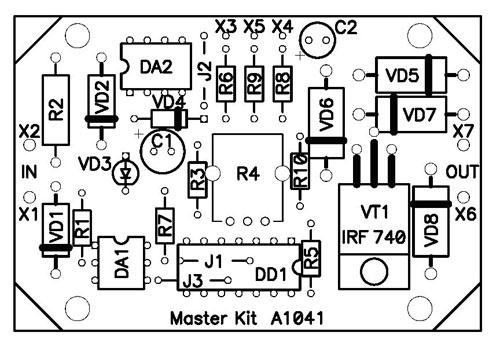 Датчик температуры схема электрическая принципиальная схемы питания
